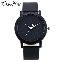 Ladies gift new style watch creative design dark matter concept design simple face steek band quartz fashion wristwatch TEMPTER