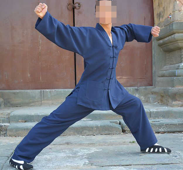 AANPASSEN 16 kleur UNISEX LINNEN Taoïstische kleding sets Wudang vechtsporten pakken kung fu uniformen Tai chi donkerblauw/groen/grijs