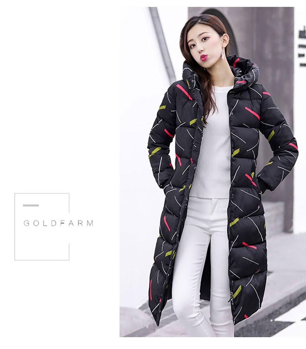 parkas coat cotton-padded long 11