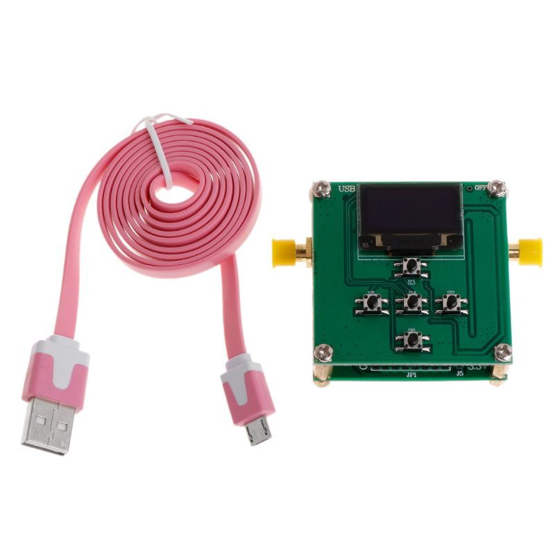 PE43702 31.75dB Digital RF Attenuator Module 9K 4GHz 0.25dB Stepping Precision with OLED Microcontroller Control Board Instrument Parts & Accessories     - title=