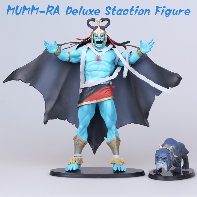 ФОТО 25cm Thundercats MUMM-RA Deluxe Staction Figure collectible model toys for boys