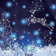 Фон для фотосъемки с рождественским оленем, 210x150 см, виниловые фотообои для фотостудии, фон для фотосъемки