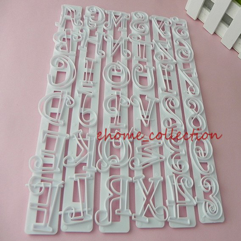 1set 26 alphabet letters 255cm x 3cm stencil cookie fondant cake cutter mold pastry biscuit stamp mould diy baking tools