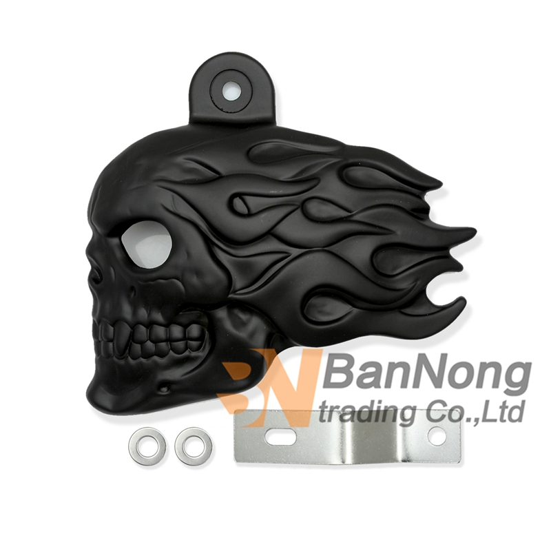 Free shipping Motorcycle skull logo Air Filter Cleaner Carburetor Cover For Shadow VT600 Steed 400 600 VLX400/600 Magna250