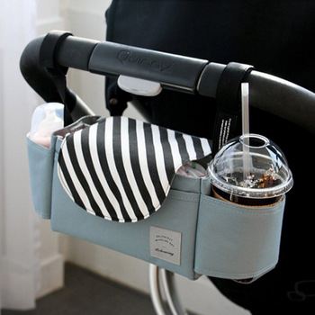 Baby Stroller Organizer Diaper Bag Multifunction Mummy Bag Baby Carriage Pram Bottle Holder Stroller Accessories Bag yoya