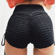 Women Fitness shorts Summer High Waist Casual Push Workout New knickers Black Fashion Beach Shorts