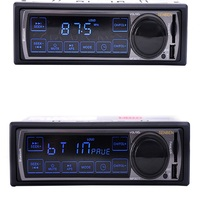Vente chaude 12 V De Voiture Stéréo FM De Voiture Radio Bluetooth MP3 Audio lecteur Soutien Téléphone USB/SD Autoradio Au Tableau de Bord 1 DIN Radio lecteur