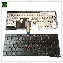 Английская клавиатура для Lenovo IBM ThinkPad Edge E450 E450c E455 E460 E465 W450 04X6141 04X6181 Ноутбук США