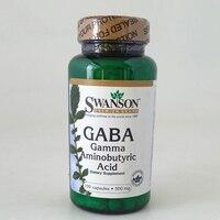 GABA Gamma Aminobutyric Acid 500 Mg 100 Pcs Mfg Date 08 17 Free Shipping