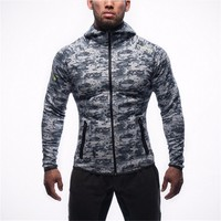 2016 Autumn Casual Camouflage Men S Sweatshirt Hoodies Tracksuits Bodybuilding Fitness Clothes Male Jackets Sportswear