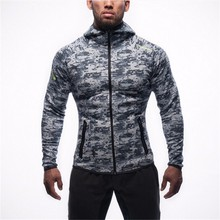 2016 Autumn Casual Camouflage Men' s Sweatshirt Hoodies Tracksuits Bodybuilding Fitness Clothes Male Jackets Sportswear