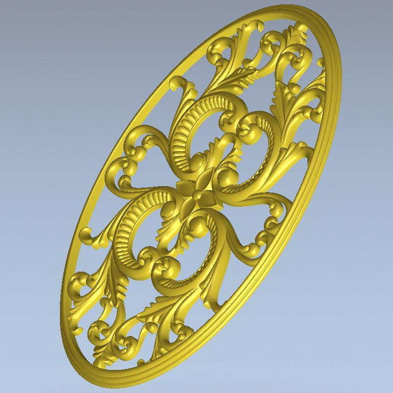 High Quality New 3D Model For Cnc 3D Carved Figure Sculpture Machine In STL File 3D Furniture Decoration Decor_64