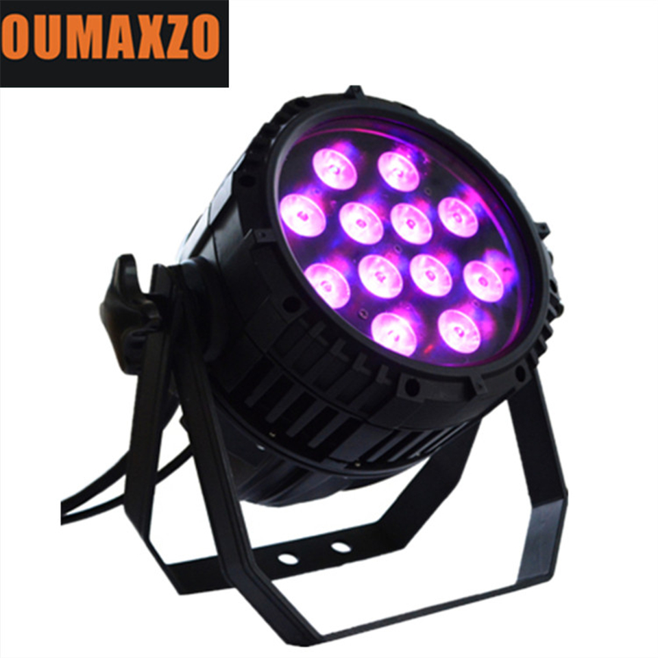 Outdoor Stage 12PCS 12W <font><b>LED</b></font> Mini Par64 <font><b>Led</b></font> Lighting Lamp <font><b>12x12w</b></font> RGBW <font><b>LED</b></font> Waterproof SlimPro <font><b>Par</b></font> 12pcs 12W RGBW 4in1 Stage <font><b>par</b></font> image