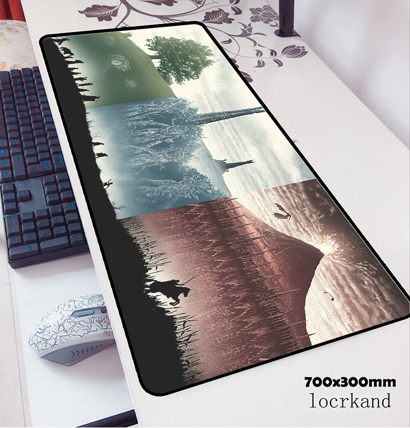 Lord Of The Rings Mouse Pad 70x30cm Gaming Mousepad Anime Best Office Notbook Desk Mat Xl Padmouse Games Pc Gamer Mats