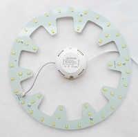 120V 220V 230V 240V DIY surface mounted 24W led ceiling light round led board LED circular tube techo de LED 2 year warranty