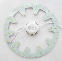 120V 220V 230V 240V montaje en superficie DIY 24W led luz de techo redondo led circular tubo techo LED 2 años de garantía