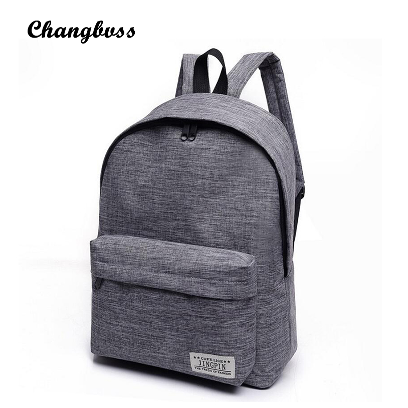 2017 New Casual Canvas Men Women Backpack Bags Big School Bags For Teenager Travel Laptop Bagpack Mochila Rucksacks Sac A Dos brand canvas men women backpack college high middle school bags for teenager boy girls laptop travel backpacks mochila rucksacks