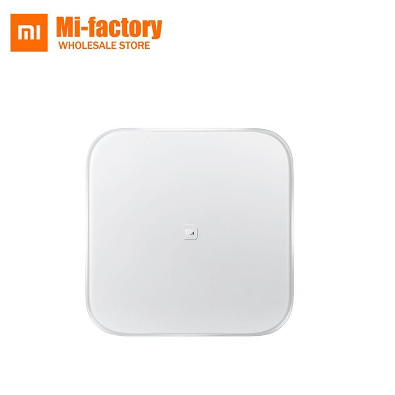 Balance de pesage intelligente d'origine Xiao mi balances numériques électroniques App télécommande Android 4.4 iOS 7.0 Bluetooth 4.0
