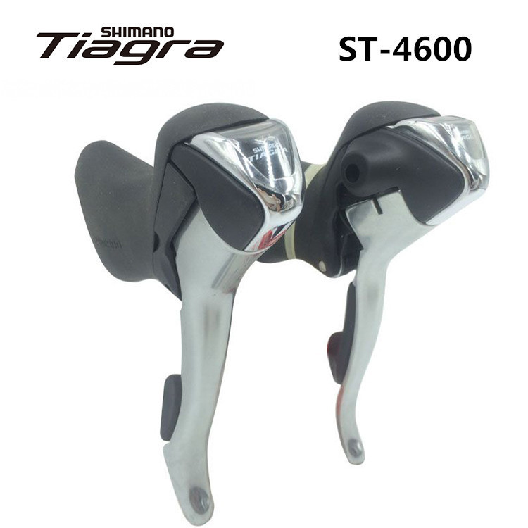 shimano ST 4600 Tiagra Shift Lever 2*10S 20S Derailleurs Road Bicycle For Tour and Relaxing Bike Components Parts shimano ultegra st 6700 shift brake lever 2 10s road bike shifter 6700 20s