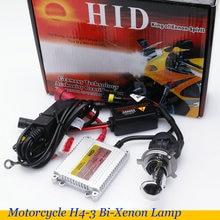 Motocicleta hid xenon font b lamp b font h4 hi low h4 bi xenon soquete alta