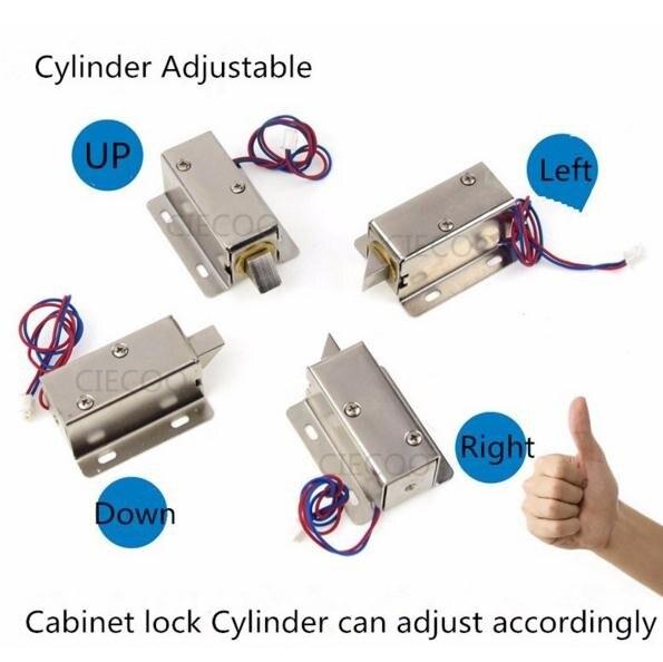 12v Dc Cabinet Lock Door Lock Mini Smart Cabinet Door Lock Biometric
