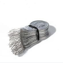 """50 шт./лот лук игла для проволоки Нитевдеватель стежка вставки машины нитки для ручного шитья ведущий инструмент appr. 41*17*0,4 мм/1,61*0,66*0,01"""""""