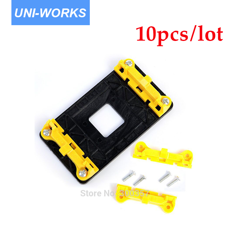 10pcs/lot Desktop CPU Cooler Fan heatsink Bracket Holder Base For AM2 AM3 FM1 FM2 940 socket 2200rpm cpu quiet fan cooler cooling heatsink for intel lga775 1155 amd am2 3 l059 new hot