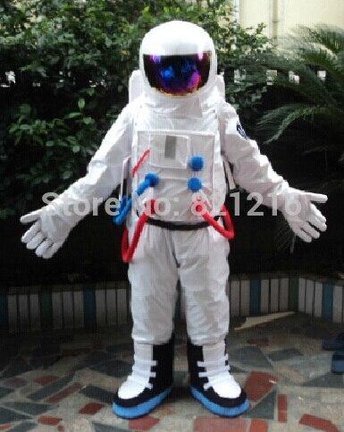Бесплатная доставка Хэллоуин наряд костюмы костюм космонавта космонавт талисмана для взрослых Show