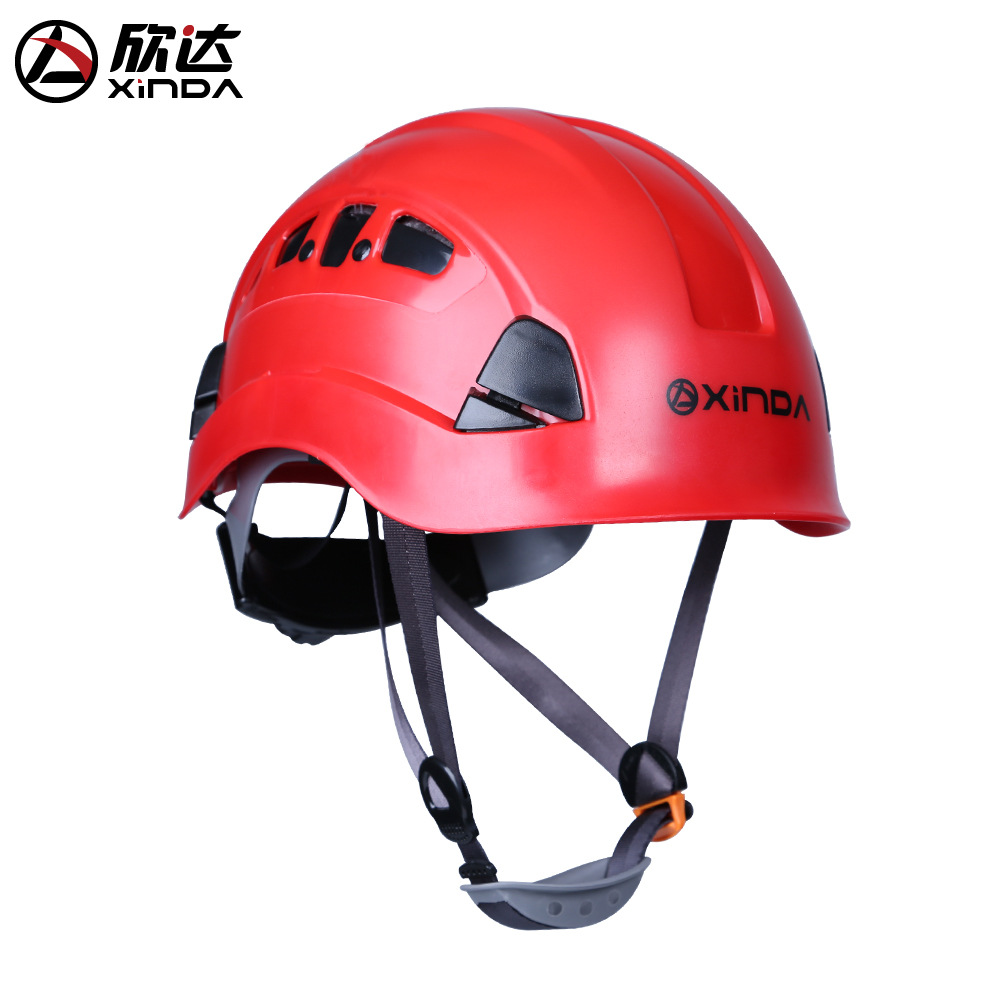 XINDA FREE SHIPPING Outdoor Downhill Climbing Helmets Riding Mountaineering Tunnel Cable Drop Rescue Helmet Drifting Protection free shipping pu leather harley helmets