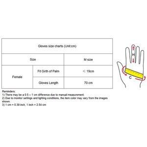 Image 5 - 70cm Extra Lange Leder Handschuhe Emulation Leder Schlanke Hand Sexy Weibliche Big Red Patent Leder Rot Frauen Handschuhe WPU09 70