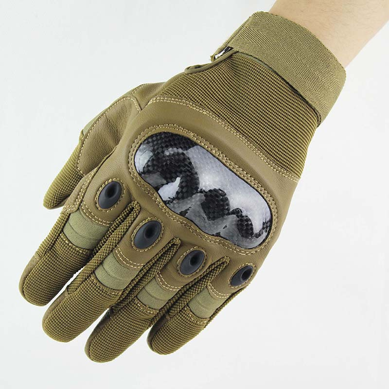 Tactical Gloves Military Army Airsoft Outdoor Sports Police Carbon Hard Knuckle Full Finger Gloves For Hunting Shooting Fishing