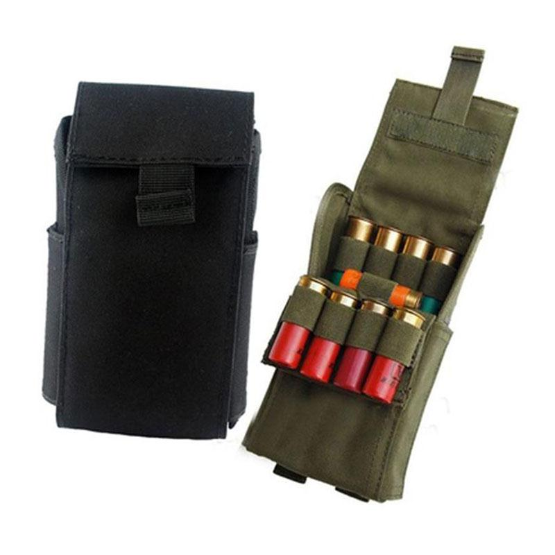 Hunting 25 Round 12GA 12 Gauge Ammo Shells Reload Magazine Storage Pouches Bag Bandolier Bullet Holder Tactical Airsoft Kit new 30 50 cal metal ammo can military and army m19a1 all metal box for long term storage by solid tactical bullet box ammo case
