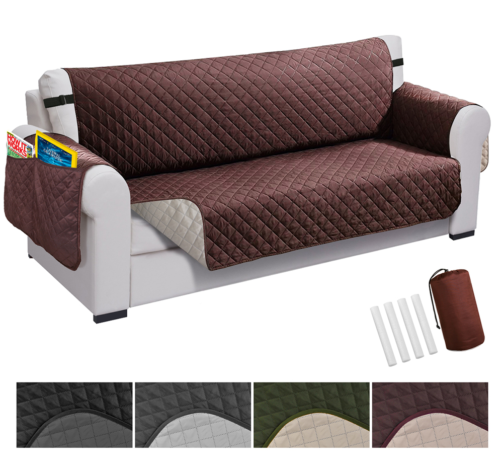 Waterproof Sofa Cover Couch Chair 1-4 Slipcover Furniture Protector Pet Mat US