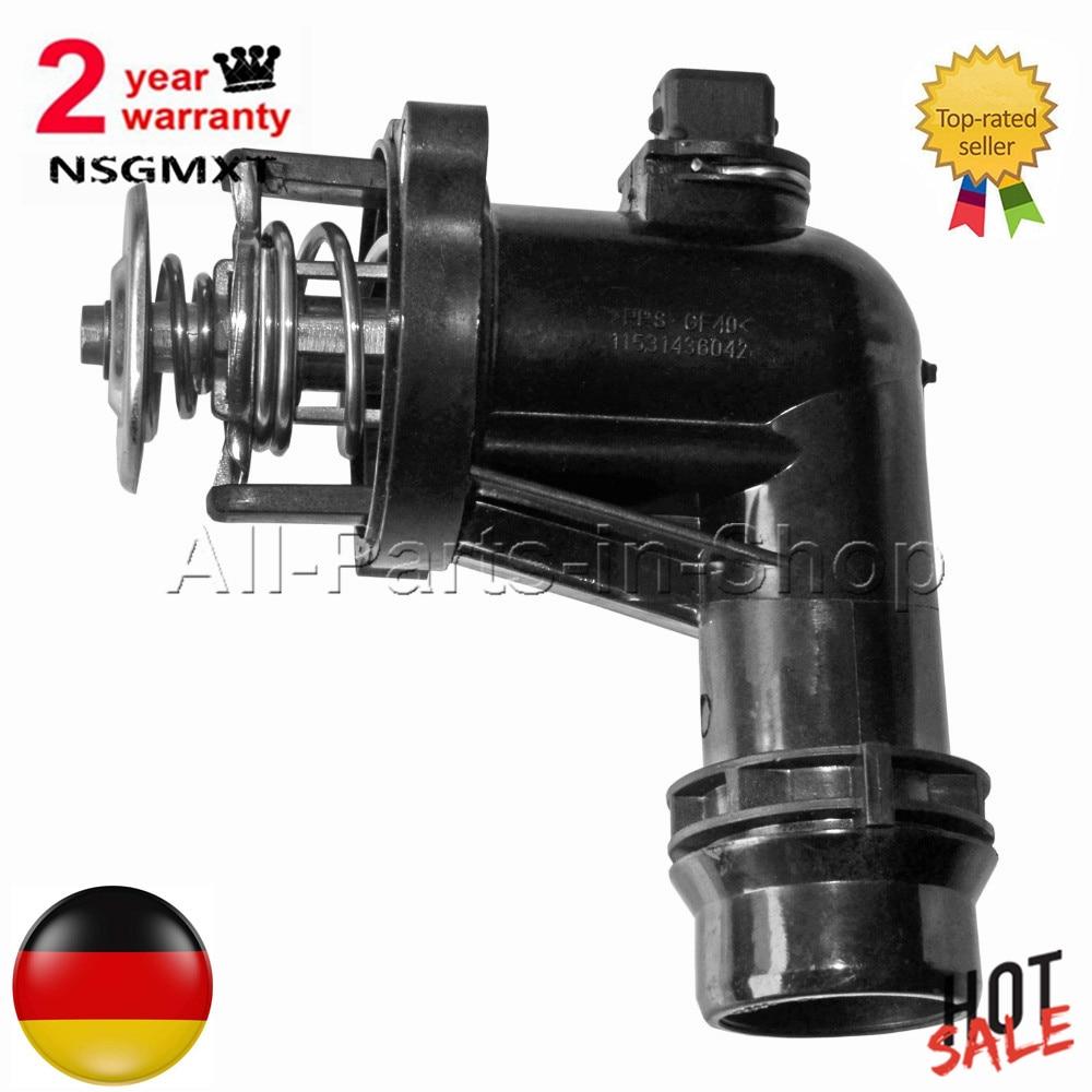 AP03 Thermostat + Housing For BMW 3 Series Compact E36 316i E46 318i  11531436042  11531437085