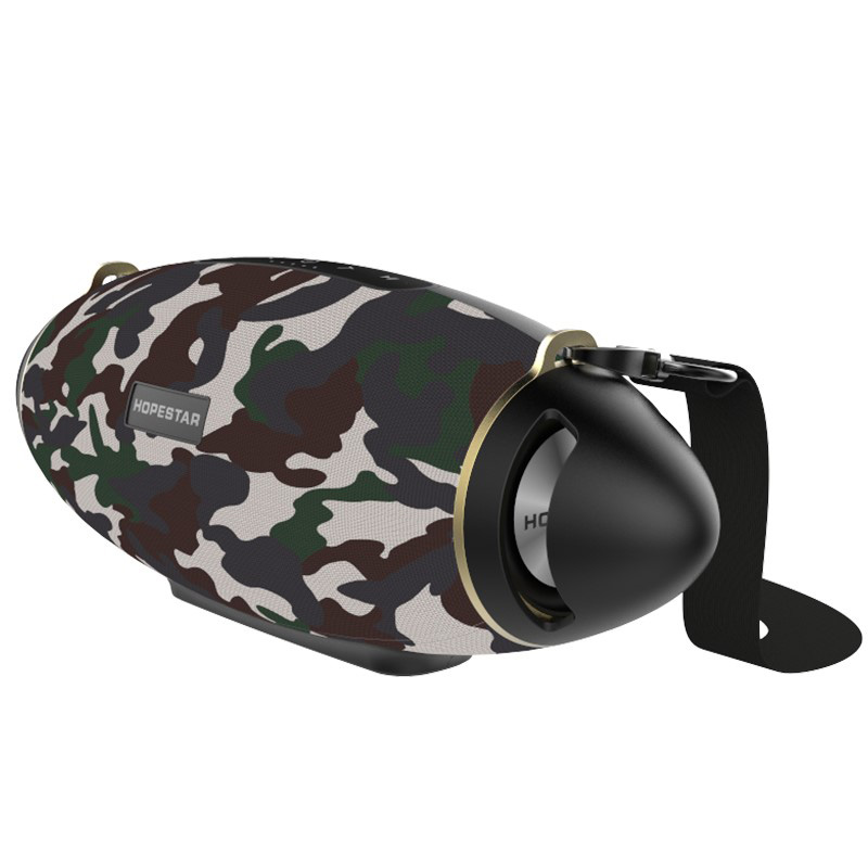 HOPESTAR Original H20+ Rugby Bluetooth Speaker Wireless Portable Column USB boombox mp3 player Waterproof Bass Outdoor Subwoofer