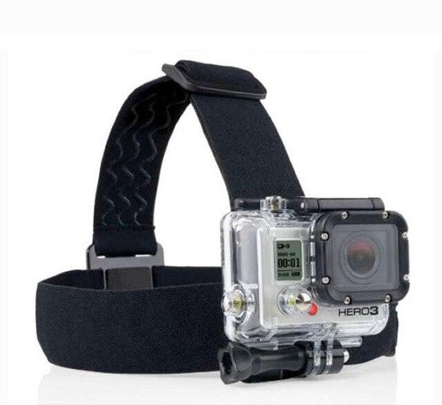 Sale! Go Pro Head Strap Mount Adjustable Headstrap Head Strap Mount Belt for GoPro Hero 4 3+ 3 2 Camera sj6000 sjcam Accessories