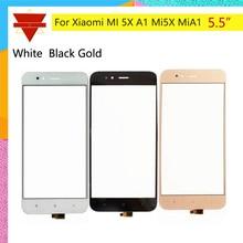 10pcs \ veel Originele mi 5X VOOR Xiao Mi mi A1 5X mi 5X TOUCH screen sensor LCD Display Digitizer front Buitenste Glas