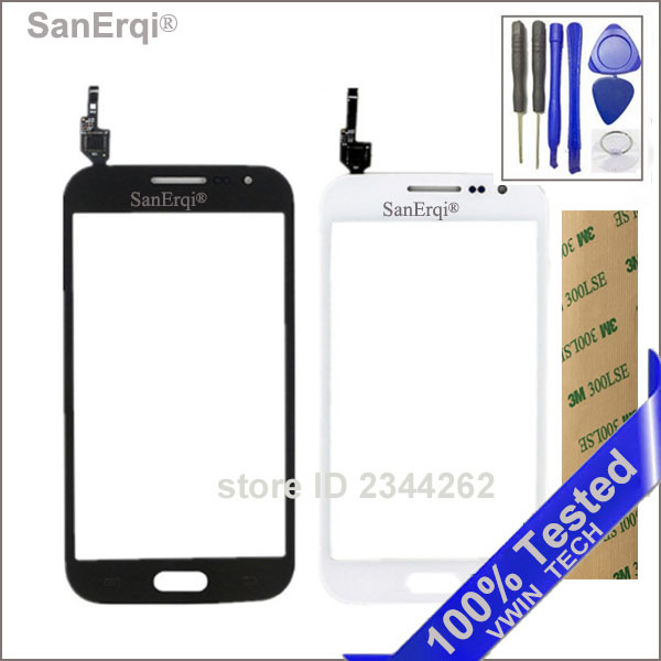 SanErqi Tested New For Samsung Galaxy Win GT-i8552 GT-i8550 i8552 i8550 8552 8550 Touch Screen Digitizer Glass