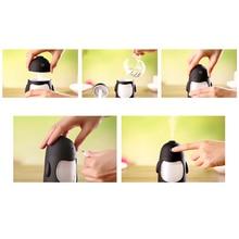 FFFAS USB Humidifier Cute QQ Penguin Aroma Essential Oil Diffuser Ultrasonic Mist Air Fog Sprayer Steam Maker for Dry Weather