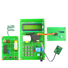 GSM Smart home burglar alarm microwave SMS remote home appliance control Electronic production kit