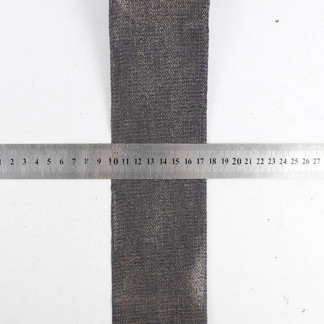 Ruban Denim coton lavage 5 couleurs   2 ans/lot de 3