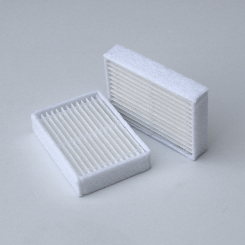 5pcs/lot Robot Vacuum Cleaner Parts HEPA Filter for Panda X600 pet Kitfort KT504 Robotic 2pcs robotic vacuum cleaner robotic parts pack hepa filter for xiaomi mi robot filters cleaner accessories
