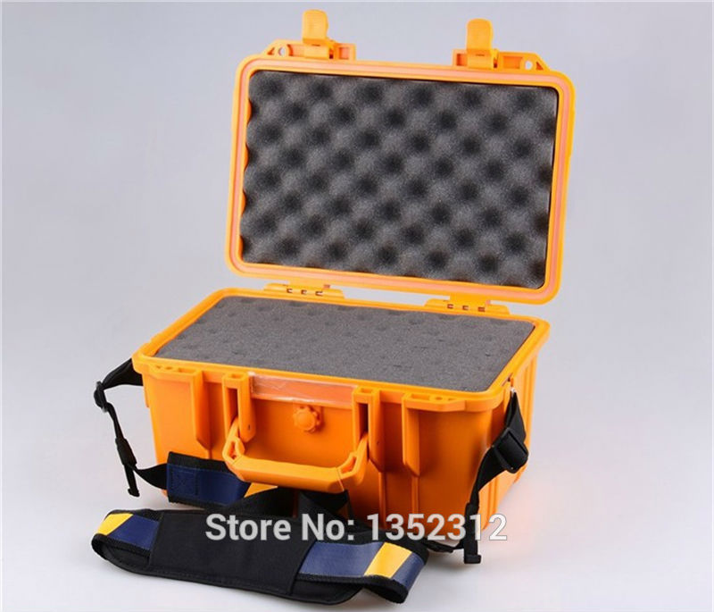 341*249*180mm Impact resistant sealed waterproof safety case canvas tool bag multifunction ip68 plastic tool box