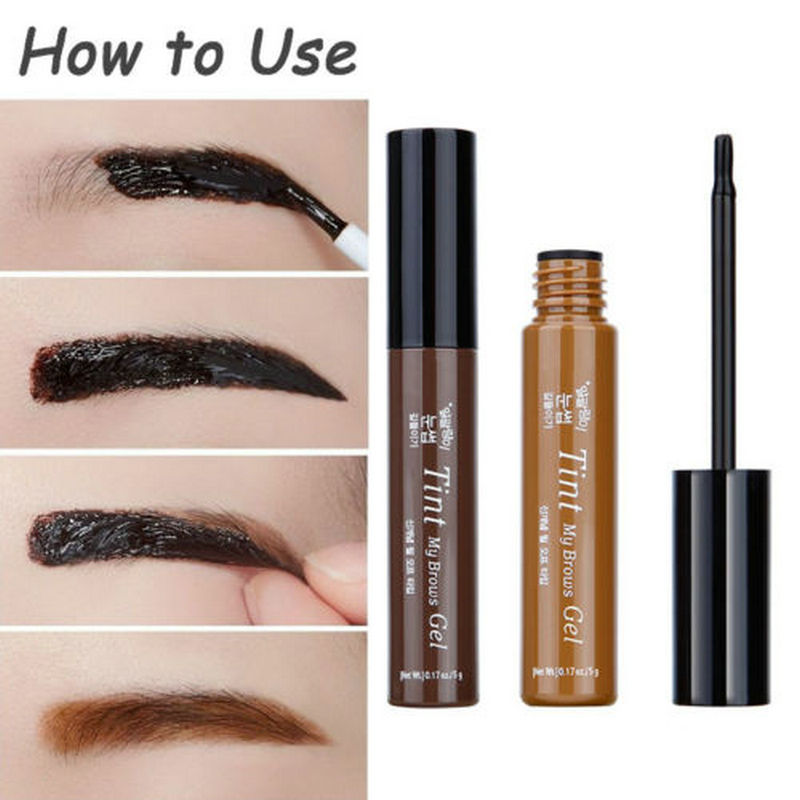 2016 new 3 colors peel off eyebrow cream tattoo brows gel for Tattoo brow gel