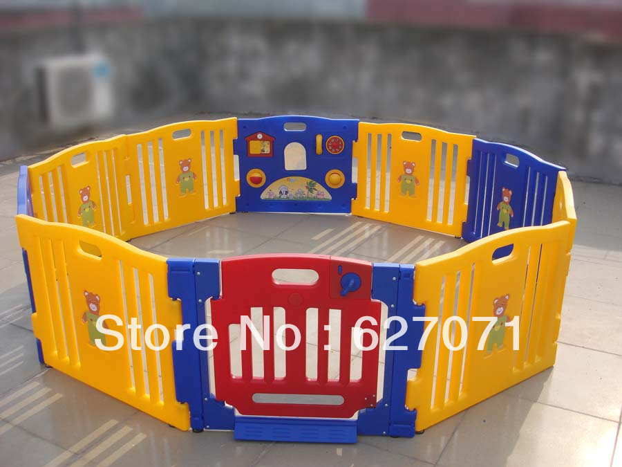 Fast Shipping 6 2 Baby Plastic Playpen Baby Game Fence