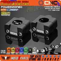 Pro Taper manillar Fat Bar elevadores montaje abrazadera adaptador 7/8-1 1/8 montura sólida Universal ajuste motocicleta MX Enduro FCI YZF rxf