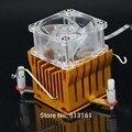 PC Cooler de Resfriamento do dissipador de calor 12 V DIY Fã Southbridge Northbridge Dissipador de calor de Alumínio
