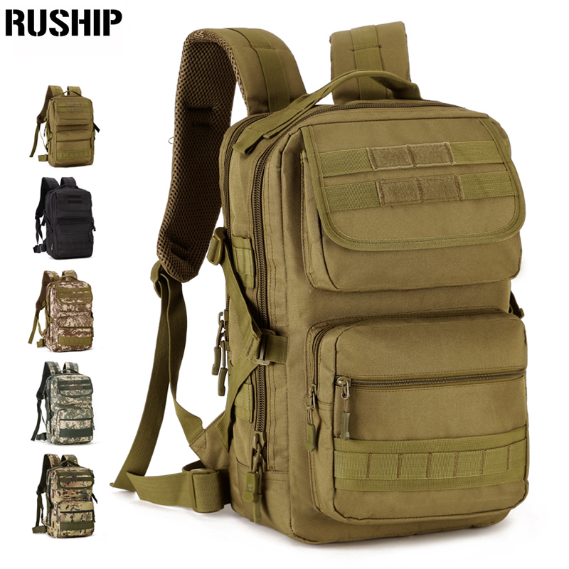 ФОТО Protector Plus Hot Sell 25L High Quality Nylon Bag Military Backpack Traveling Rucksack Bags Multi-function Waterproof Pack