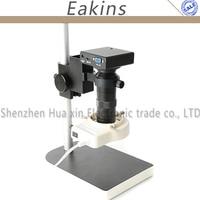 HD 1080P Electronics Industry Digital Microscope Camera HDMI VGA Output Built in Professional measurement software PCB repair