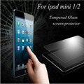 Высокий Ясный Усиленное Закаленное Стекло-Экран Протектор Hard Cover Для Apple iPad Mini Премиум Ультра Тонкая Пленка Защитный Чехол